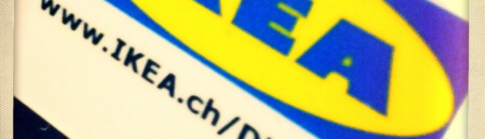 Vorgestern bei IKEA